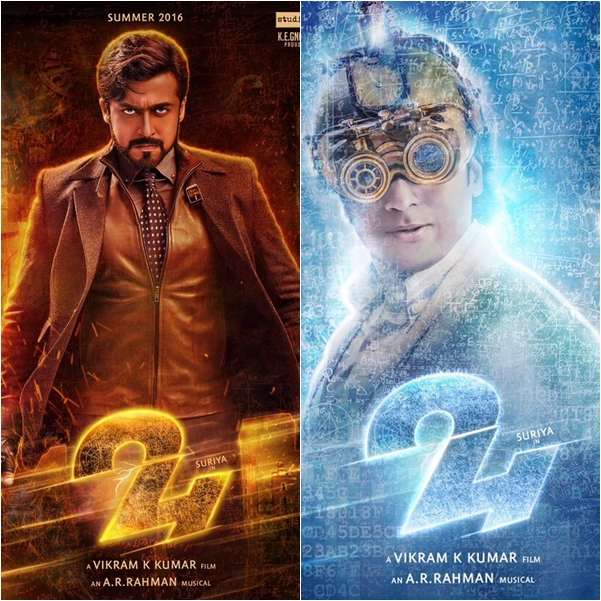 Suriyas 24 movie first look poster photos altavistaventures Images