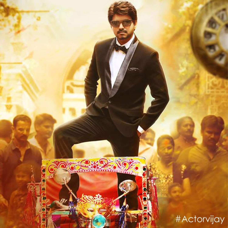 Bairavaa Vijay Poster