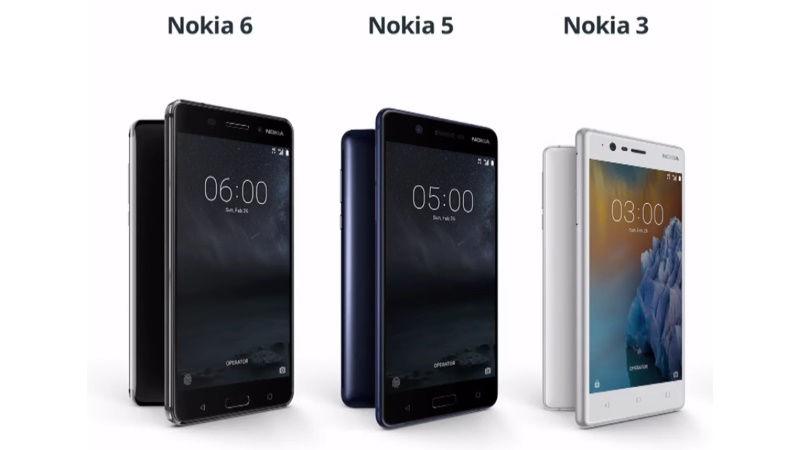 Nokia, Nokia 3, Nokia 3 Mobile Price, Nokia 3 Specifications, Nokia 5, Nokia 5 Mobile Price, Nokia 5 Specifications, Nokia 6, Nokia 6 Mobile Price, Nokia 6 Specifications, Mobile Price, Technology