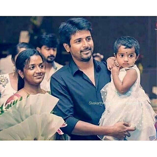 Sivakarthikeyan Family Photos - Wife, Daughter, Parents