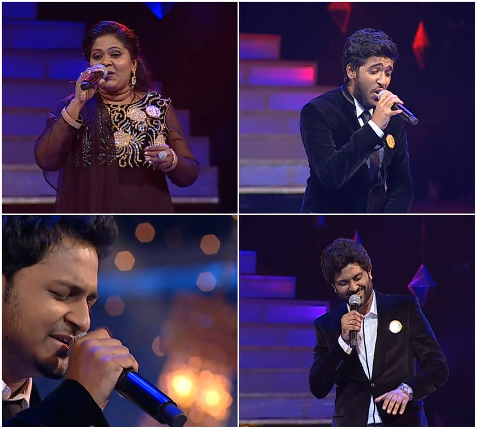 Super Singer 5 Semi Final, Super Singer 2016 Semifinal