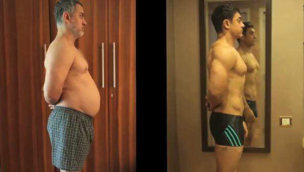 Aamir Khan Dangal Transformation
