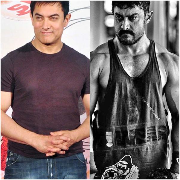 Aamir Khan trasformation for Dangal