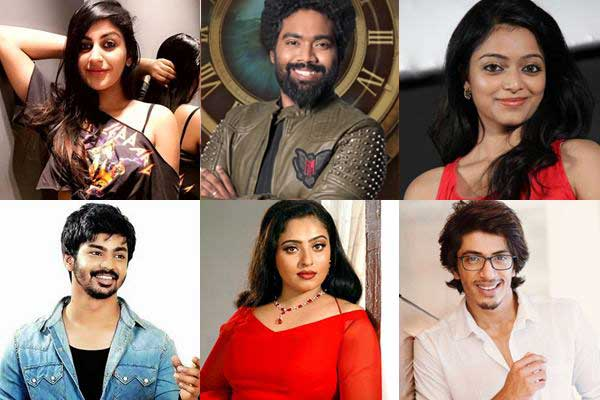 Bigg Boss 2 Tamil Contestants List