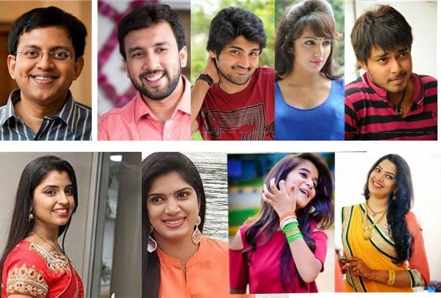 Bigg Boss 2 Telugu Contestants