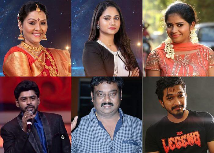 Bigg Boss Tamil 3 Contestants