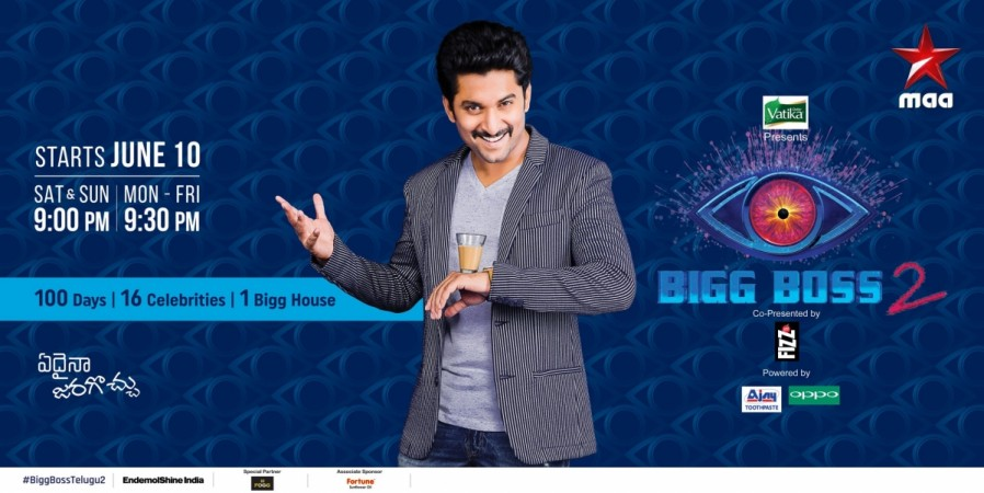 Bigg Boss Telugu 2 Timing
