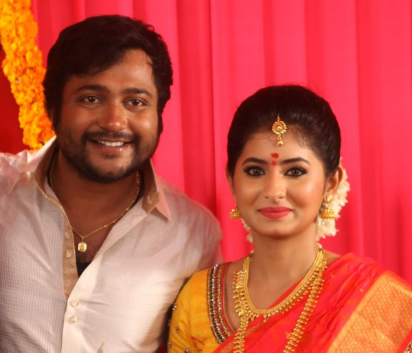 Actor Bobby Simha & Reshmi Menon Marriage Photos