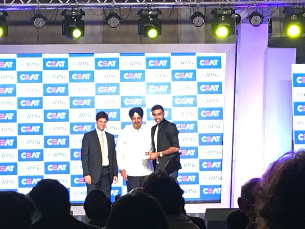CEAT Cricket Awards 2016 Winners List