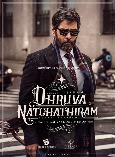 Dhruva Natchathiram Poster