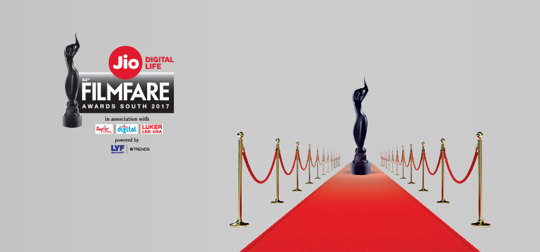 64th Filmfare Awards South 2017 Winners List, Live Update