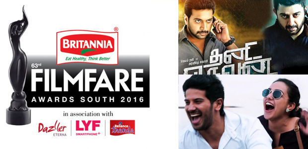 Filmfare Awards Tamil 2016 Winners List