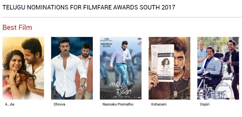 Filmfare Awards Telugu