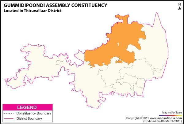 Gummidipoondi Election Result 2016