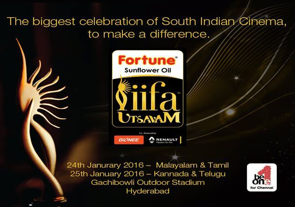 IIFA Utsavam Awards 2016, IIFA Utsavam, IIFA Utsavam telecast, IIFA Utsavam tv channel, Sun TV, IIFA Awards Sun TV