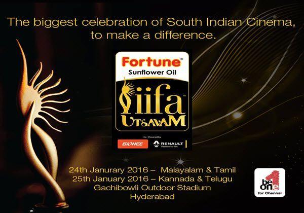 IIFA Utsavam Awards 2016, IIFA Utsavam, IIFA Utsavam telecast, IIFA Utsavam tv channel, Sun TV, IIFA Awards Sun TV