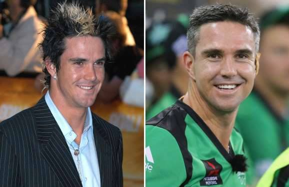 cricketers then now photos