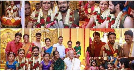 Actor Nakul Married, Nakul marriage, Nakul Sruti Bhaskar Wedding, Nakul Sruti Bhaskar Marriage Photos, News