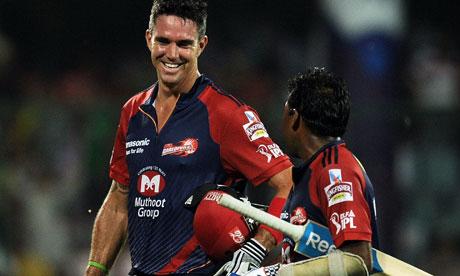 Kevin Pietersen and Mahela Jayawardena