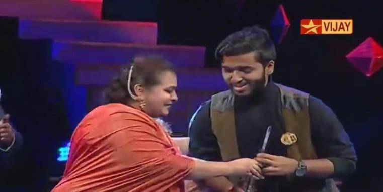 Super Singer, Super Singer Awards, Super Singer 5, Super Singer 5 Award Winners, Super Singer 2016 Awards, Anand Aravindakshan