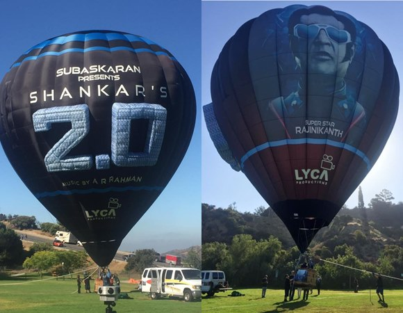 Rajinkanth 2.O Promotion Balloons