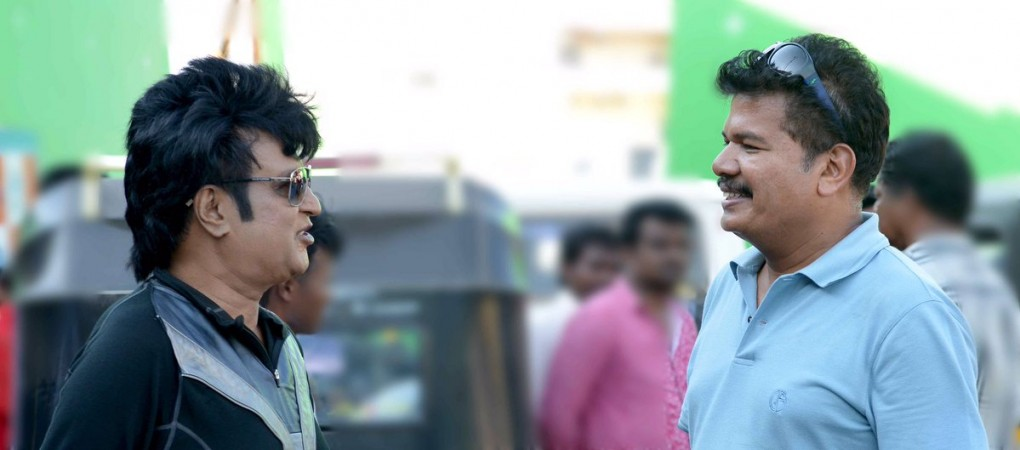 Director Shankar Rajinikanth at 2.0 Shooting Spot
