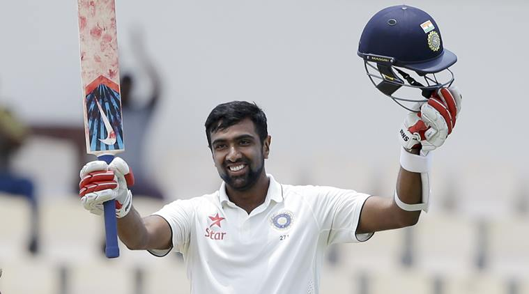 Ravichandran Ashwin Test Hundred