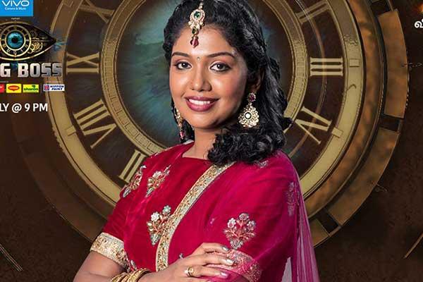 Riythvika Bigg Boss Tamil Vote