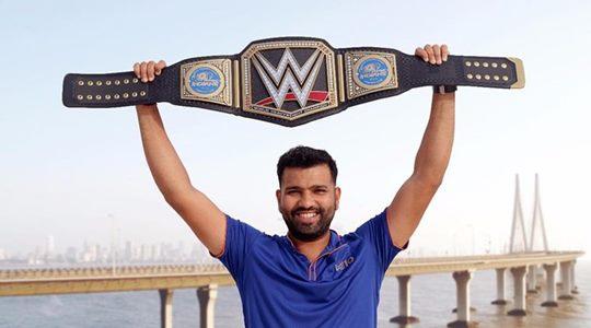 Rohit Sharma WWE