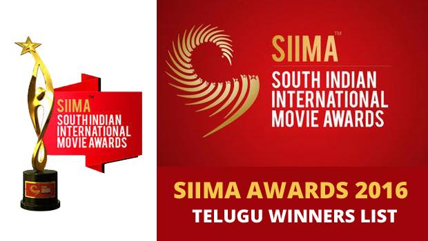 SIIMA Awards 2016 Telugu Winners