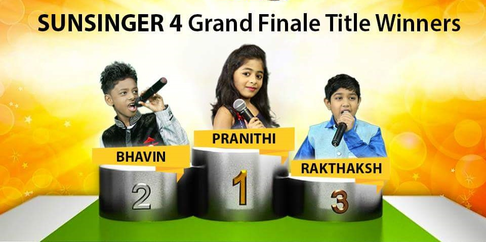 Sun Singer Season 4 winners, Sun Singer Winners, Sun Singer Season 4, Sun Singer 2015 winners, Sun Singer season 4 winner, Tamil, TV
