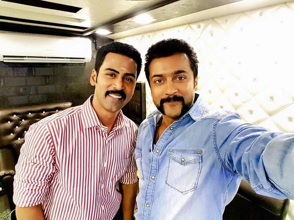 Suriya, Krish, Singam 3, S3, Photos, Singm 3 Shooting, Hari