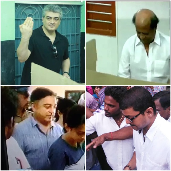 Image result for vijay voting
