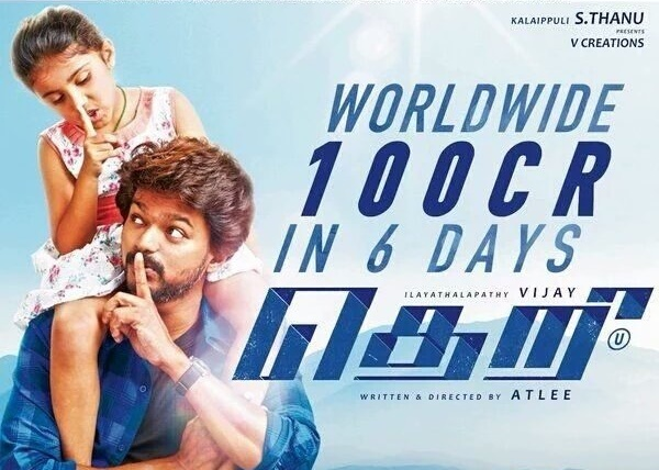 Theri joins 100 crore Club at box office
