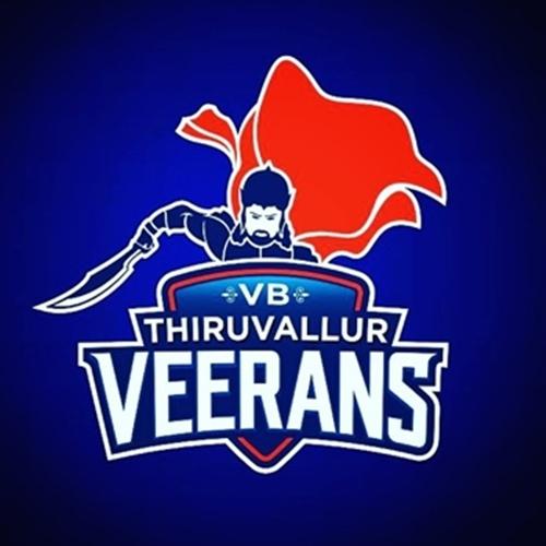 Thiruvallur Veerans Logo