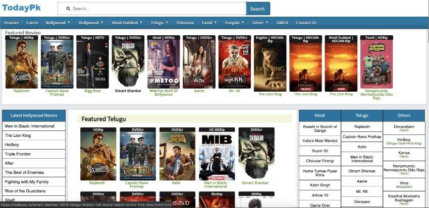 Todaypk Movies Download