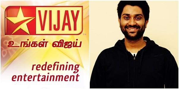 Anand Aravindakshan, Vijay Television, Vijay Television Press Release, Vijay Television about Anand Aravindakshan, Anand Aravindakshan Cheated, Vijay TV Anand Aravindakshan